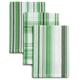 Plaid Striped Dishcloths, Set of 3 + Free Set