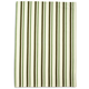 Green Multi-Stripe Kitchen Towel