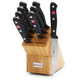 Wüsthof® Gourmet 9-Piece Steak Knife Block Set