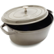 Staub® Graphite Oval Cocottes