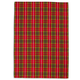 Red & Green Tartan Kitchen Towel