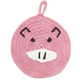 Pink Pig Crochet Pot Holder