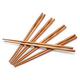 Twisted Bamboo Chopsticks, Set of 5