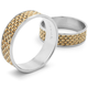 Chilewich® Linen Basketweave Napkin Ring