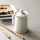 White Porcelain Soy Sauce Pitcher