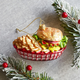 Burger Basket Ornament