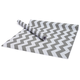 Macbeth Collection Gray Chevron Adhesive Shelf Liners, Set of 2