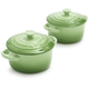 Le Creuset® Rosemary Mini Cocottes, Set of 2