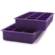 Purple Perfect Cube Ice Trays, Set of 2