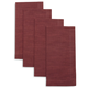 Sur La Table® Cranberry Mitered Napkins, Set of 4
