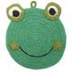 Frog Crochet Pot Holder
