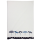 Umbrellas Vintage-Inspired Kitchen Towel
