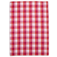 Pink Checkered Kitchen Towel