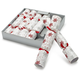 Snowflake Holiday Crackers, Set of 6
