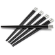 Black Metal Chopsticks, Set of 5