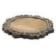 Antiqued Scroll Round Cheeseboard, 16