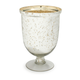 Mercury Glass Hurricane Candleholder