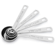 Le Creuset® Stainless Steel Measuring Spoons, Set of 5