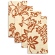 Sur La Table® Copper Bloom Napkins, Set of 4