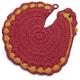 Rooster Crochet Pot Holder
