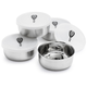 Stainless Steel Prep Bowls, Set of 4