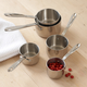 All-Clad® Stainless Steel Measuring Cup Set