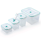 Vac 'n Save Rectangle Food Storage Set