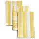 Soleil Plaid Striped Dishcloths, Set of 3