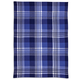Navy Madras Kitchen Towel, 28