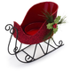 Holiday Sleigh Tealight Candle Holder