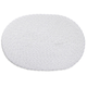 White Oval Braided Placemat