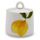 Lemon Sugar Bowl with Lid
