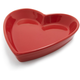 Red Porcelain Heart Dish