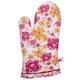 Pink Floral Vintage-Inspired Oven Mitt