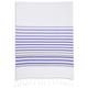 Lavender Hem Stripe Kitchen Towel, 28