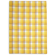 Yellow Checkered Kitchen Towel, 28