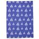 Sail Boat Jacquard Kitchen Towel