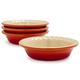 Le Creuset® Mini Flame Pie Dishes, Set of 4