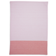 Pink Tri-Stripe Kitchen Towel