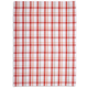 Salmon Plaid Kitchen Towel, 28