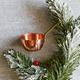 Copper Saucier Ornament