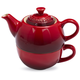 Le Creuset Cherry Tea For One