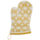 Yellow Natural Lace Vintage-Inspired Oven Mitt