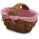 Gingham Bread Basket