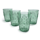 Green Ruby Double Old Fashioned, Set of 4