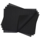 Chilewich Black Woven Basketweave Placemat