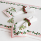 Holly and Pine Napkins, Set of 4