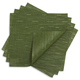 Chilewich Lawn Green Square Bamboo Placemat