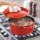 Sur La Table® Red Round Oven, 7 qt.