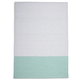 Seafoam Tri-Stripe Kitchen Towel